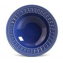 Conjunto prato fundos 6 pecas parthenon azul navy brasil - Porto brasil