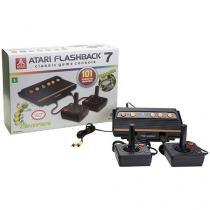 Console Atari Flashback 7 com 2 Joysticks - 101 Jogos na Memória Tectoy