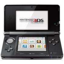 Console Nintendo 3DS - Cosmo Black - Nintendo
