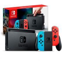 Console nintendo switch 32gb azul e vermelho joy-con nintendo -