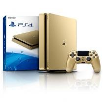 CONSOLE PLAYSTATION 4 1TB GOLD SLIM SONY PS4 - Sony