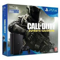 Console Playstation 4 500gb Slim com Jogo Call Of Duty  - Sony -