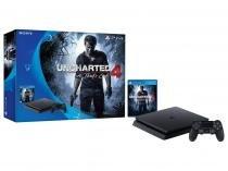 Console Playstation 4 500gb Slim com Jogo Uncharted 4 - Sony