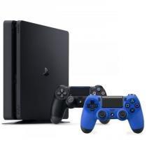 Console Playstation 4 Slim 1TB (1 Terabyte) com 2 controles - Sony -