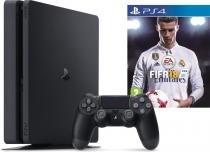 Console PlayStation 4 Slim 1TB Bivolt + Jogo Fifa 18 - Sony -