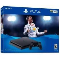 Console PlayStation 4 Slim 1TB com Fifa 18 - Sony -