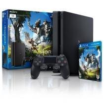 Console PlayStation 4 Slim 1TB com Jogo Horizon Zero - Sony -