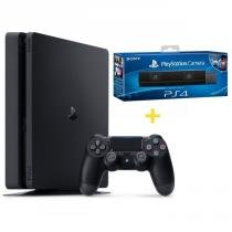 Console Playstation 4 Slim 500GB + Câmera Sony para Playstation 4 - Sony - Sony