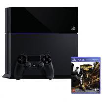 Console sony playstation 4 (ps4) / 500gb / 1 controle / jogo infamous second son - Sony