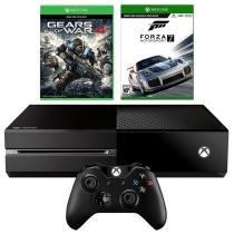 Console Xbox One 500GB + 2 Jogos + Controle Wireless - Microsoft