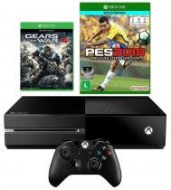 Console Xbox One 500GB + Gears of War 4 + PES 2018 - Microsoft