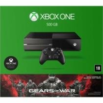 Console Xbox One 500gb + Jogo Gears Of War Ultimate Edition (Download Via Xbox Live) - Microsoft - 1