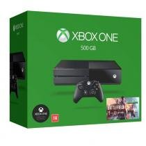CONSOLE XBOX ONE 500GB SEM KINECT + BATTLEFIELD 1 (DOWNLOAD) - Microsoft
