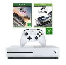 Console Xbox One S 500Gb + Forza Motorsport 7 + Forza Horizon 3 - Microsoft