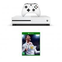 Console Xbox One S 500GB Microsoft com jogo Fifa 18 -