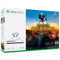 Console Xbox One S Microsoft 1 tera + Battlegrounds Game Pass Live Gold -