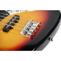 Contra Baixo Elétrico 4 Cordas Jazz Bass Aubcb413 Auburn - Auburn
