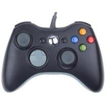 Controle Com Fio Para Xbox 360 Slim / Fat E Pc Joystick - Feir -