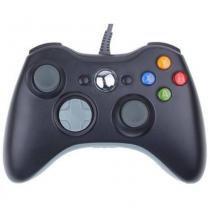 Controle Com Fio Para Xbox 360 Slim Fat E Pc Joystick - Feir - Mega page