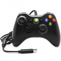 Controle Com Fio Xbox 360 Pc Computador 2 metros Cabo USB X-box Notebook - Mega page