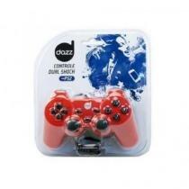 Controle Dazz Ps2 Dual Shock Vermelho Ref.: 621542 - Dazz