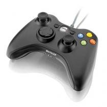 Controle Game Multilaser Dual Shock Preto Xpad Pc/Xbox360 - Js063 - Multilaser
