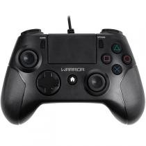Controle Gamer Warrior Para Ps4 E Pc Preto Js083 Multilaser -