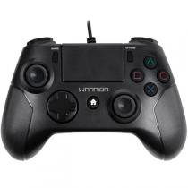 Controle Gamer Warrior Para Ps4 E Pc Preto Js083 Multilaser - Multilaser