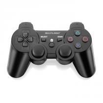Controle Joystick Multilaser Joypad 3 em 1 PC PS2 PS3 Sem Fio JS072 - Multilaser