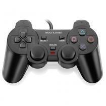 Controle Joystick Multilaser para Playstation 2 Dualshock JS043 -
