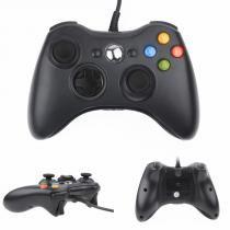 Controle Joystick Usb Com Fio Xbox 360 - Importado