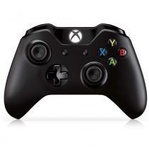 Controle Microsoft Xbox One Original, Preto -