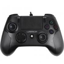Controle multilaser warrior ps4 e pc js083 preto - Multilaser