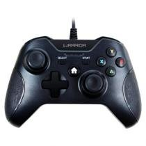 Controle Multilaser Xbox One e PC USB Warrior Preto - JS078 -