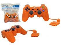 Controle para PS2 KNUP com Fio Laranja KP-2121A -OEM KP-2121A KNUP -