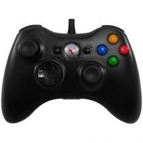 Controle Para Xbox 360 e PC Com Fio - Cor Preto - Joystick - Mega page