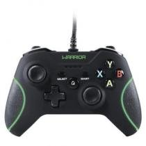 Controle PC Xbox 360 Warrior Multilaser - JS079 -