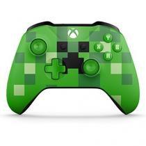 Controle Sem Fio (Minecraft Creeper) - XBOX One - Microsoft