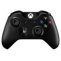 Controle Sem Fio Xbox One com conector P2- Preto - Microsoft