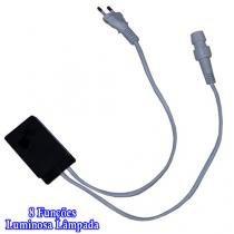 Controle sequencial mangueira corda luminosa lampada 20mt pisca-pisca bivolt 1221 - Xl