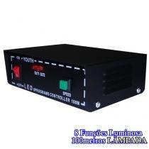 Controle sequencial mangueira luminosa de lampadas 100 metros bivolt cod 1223 - Xl