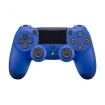 Controle Sony Dualshock 4 Azul sem fio (Com led frontal) - PS4 -