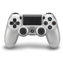 Controle Sony Dualshock 4 Silver para PS4 -