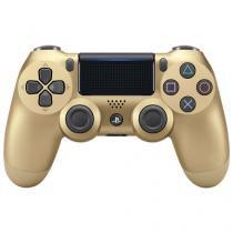 Controle Sony Playstation 4 Sem Fio Dualshock 4 Dourado - Gold -