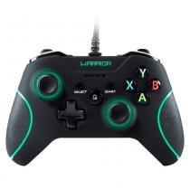 Controle Warrior Xbox360/PC Com Fio Nylon JS079 Multilaser -
