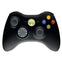 Controle xbox 360 original / sem fio / preto - Microsoft