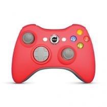 Controle Xbox 360 Rubber Pad Com Fio Vermelho - Dazz - Ref.: 621064 - Dazz