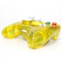 Controle Xbox 360 - Sem fio - Pro 50 - Amarelo - Pro 50
