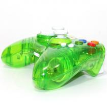 Controle Xbox 360 - Sem fio - Pro 50 - Verde - Pro 50