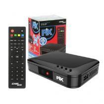 Conversor de TV Digital HD com Gravador FULL HD PIX -